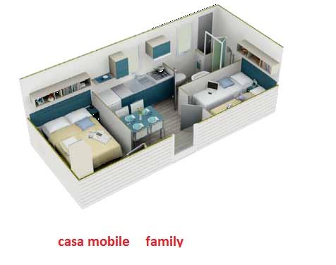 bungalows ? case mobili - Soggiorno Con Angolo Cottura 20 Mq